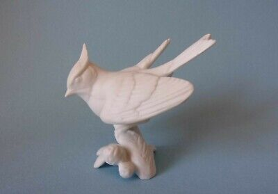 £9.95 • Buy KAISER PORCELAIN WHITE BISQUE FIGURE OF A JAY 70mm HIGH - 469
