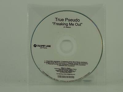 £2.96 • Buy TRUE PSEUDO FREAKING ME OUT (D10) 7 Track Promo CD Single Plastic Sleeve CALAMIT