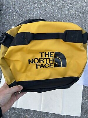 £72.72 • Buy New! North Face Base Camp 72L MEDIUM Duffel Bag Luggage Backpack Yellow/Golden
