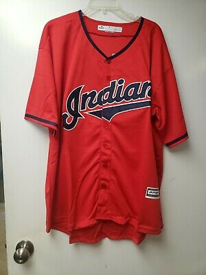 $30 • Buy Cleveland Indians Majestic Bauer #47 Jersey XXL