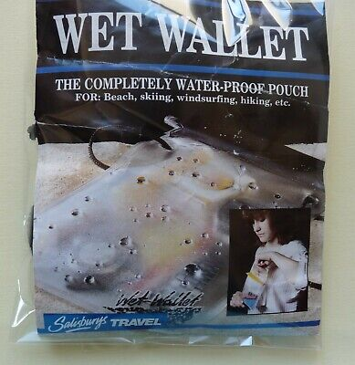 £2.50 • Buy Retro 1980's Wet Wallet/Pouch By Salisbury's. Perfect For Beach/Swimming Pool