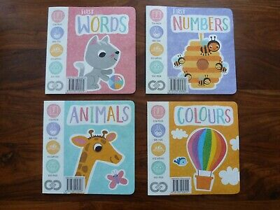 £5 • Buy Set Of 4  Books For Early Learning Baby And Toddlers.