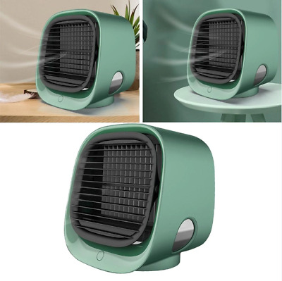 AU0.01 • Buy Mini Portable Air Conditioner Multi-function Humidifier 5V Room USB Air Cooler