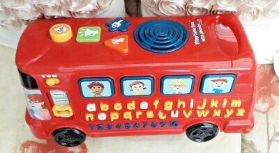 £9.99 • Buy Vtech Playtime Bus With Phonics, Numbers And Songs Interactive Preschool  Tested