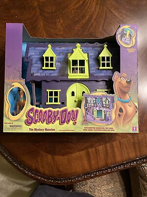 £58.17 • Buy SCOOBY DOO THE MYSTERY MANSION PLAYSET W/ FIGURE Firing New Sealed