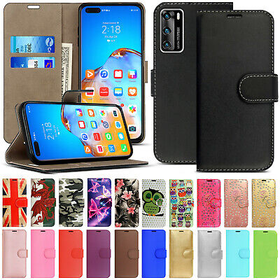 £1.99 • Buy For Huawei P40 Pro P40 Lite Phone Case Leather Flip Shockproof Wallet Book Cover