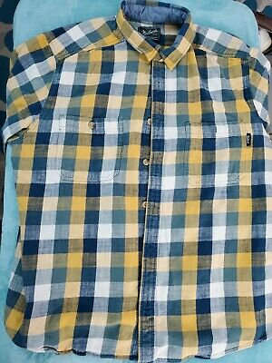 $20 • Buy WOOLRICH Mens XXL Heavy Plaid Button Up Shirt Flannel Warm Thick