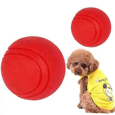 £3.23 • Buy Interactive Toys Rubber Ball Bounce Toy Dogs Balls For Dog Pets Tough Solid