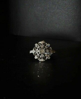 AU999 • Buy 18ct White Gold Diamond Dress Cocktail Ring With Valuation $2085
