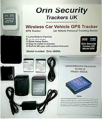 £29.99 • Buy 0rin Security GPS Tracker  Car Vehicle Spy Mini Personal Tracking Device