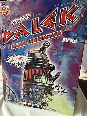 £75 • Buy Remote Control Dalek BBC Doctor Who Rare BBC 12 Inch In Box Partly WORKING