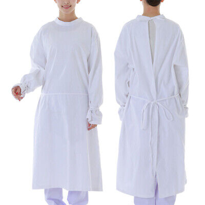 £26.40 • Buy Unisex Surgical Gown Hospital Medical Workwear Isolation Gown Uniform Scrub Top