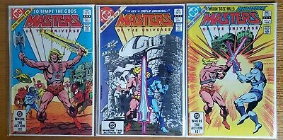 $31 • Buy Masters Of The Universe #1, #2, #3 First Comics Series 1982 Complete DC Comics