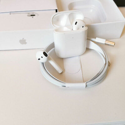 AU43.98 • Buy Apple AirPods (Second Generation) Wireless With Charging Box Headset In AU Stock