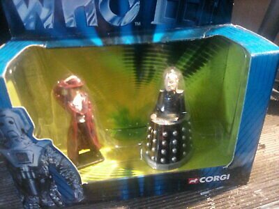 £6 • Buy Dr Who Bos Set 4th Dr And Davros Diecast Figures