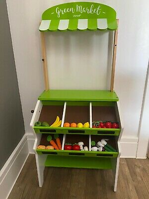 £20 • Buy Janod Wooden Toys With Fruit & Vegetables