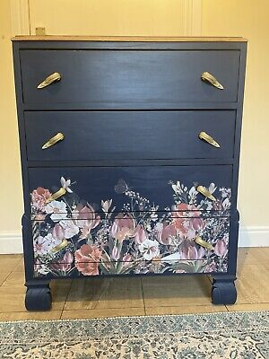 £85 • Buy Vintage Up Cycled Chest Of Drawers