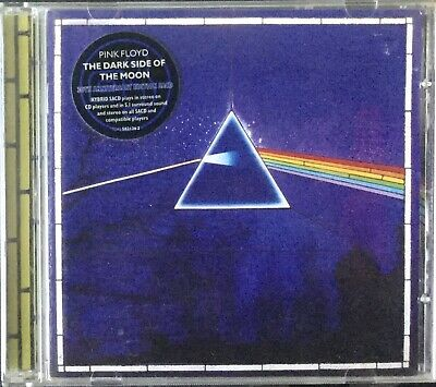 £10.10 • Buy PINK FLOYD~THE DARK SIDE OF THE MOON~30th ANNIVERSARY~HYBRID SACD 5.1~GOLD DISC