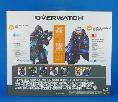 AU18.67 • Buy OVERWATCH ULTIMATES - Double Pack Action Figures - ANA Shrike & SOLDIER 76 - NEW