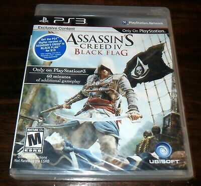 £14.38 • Buy Assassin's Creed IV 4 Black Flag - Sony PS3 - NEW & SEALED - RARE & OOP Game