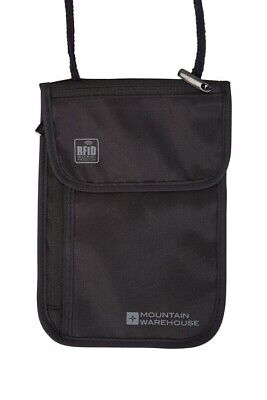 £10 • Buy Mountain Warehouse: RFID Security Neck Pouch{One Size}{Black}