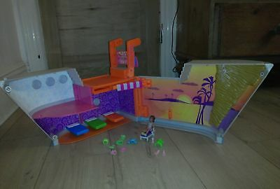 £25 • Buy Polly Pocket Fashion Polly So Hip Cruise Ship Play Set With Doll And Clothes