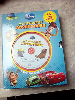 £25 • Buy New Disney My Favourite Adventures 5 Read-along Stories With CD Read And Learn