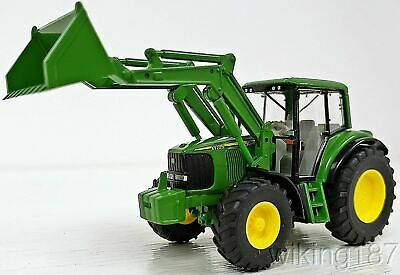 AU45.53 • Buy Wiking NEW HO 1/87 Scale John Deere 6920 S Farm Tractor With Front End Loader