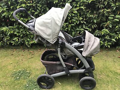 £25 • Buy Graco Quattro Tour Deluxe Travel System Single Seat Pushchair Stroller
