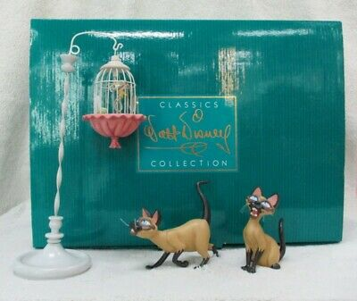 £399 • Buy Si And Am Walt Disney Classic Collection Wdcc Ornament Collectible Statue