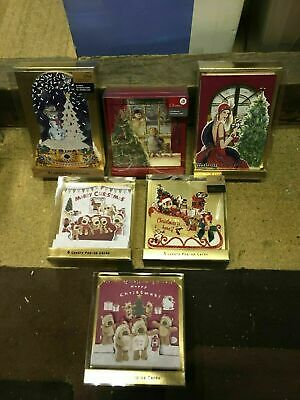 £39.95 • Buy 6 X Luxury Boxes Of Pop Up Christmas Cards Boofle Deco Tedmund Ted Animals