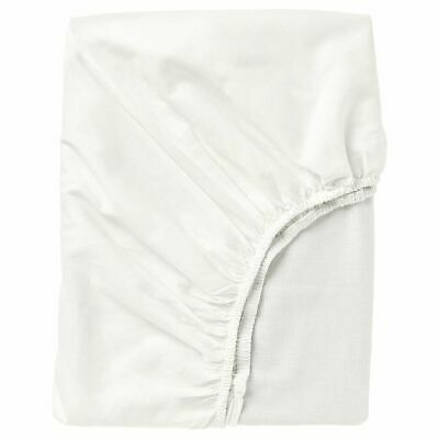 £11 • Buy Ikea FARGMARA Fitted Sheet, Great Quality White 4 Sizes,