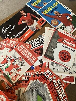 £0.01 • Buy Manchester United Football Programmes Early 70's
