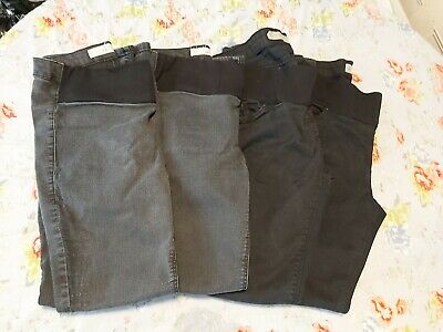 £5.50 • Buy Topshop X 4 Pairs Of Maternity Jeans Size 14