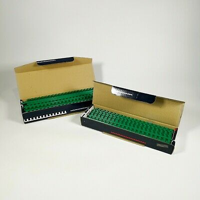 £19.99 • Buy 200 ESSELTE Plastic Comb Binding Spines - 21 Ring - Green - A4 - 30cm 6mm 35085