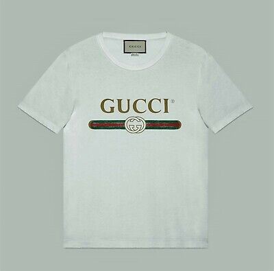 $ CDN151.06 • Buy Gucci Oversize Washed T-shirt With Vintage Logo Print Size XL