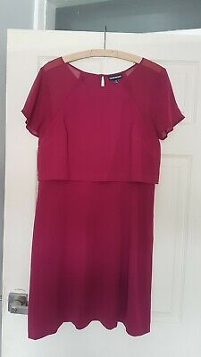 £3 • Buy Warehouse Dress Size 14 Gorgeous Summer Holiday Office Work