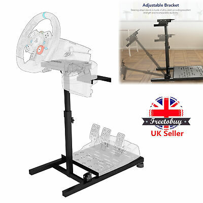 £57.86 • Buy Racing Game Simulator Steering Wheel Stand For LogitechThrustmaster PS4 Xbox