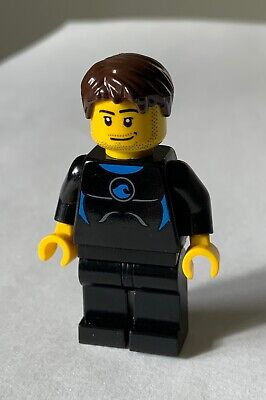 £3.99 • Buy Lego City Mini Figure Holiday - Male Surfer - Dark Brown Hair  # Excellent #
