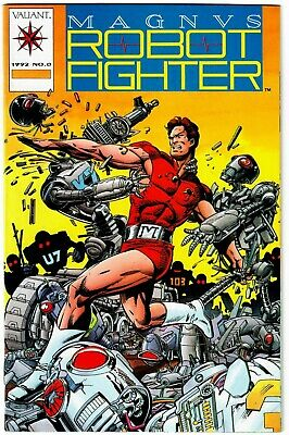 $29.99 • Buy Magnus Robot Fighter # 0 With Card - Valiant 1992 – Barry Windsor Smith - NM!