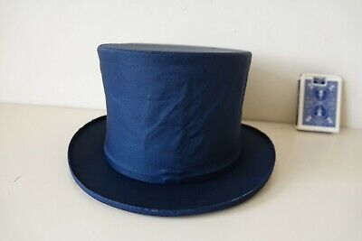 £28 • Buy COLLAPSIBLE TOP HAT (Dark Blue) (22.5 Inch)