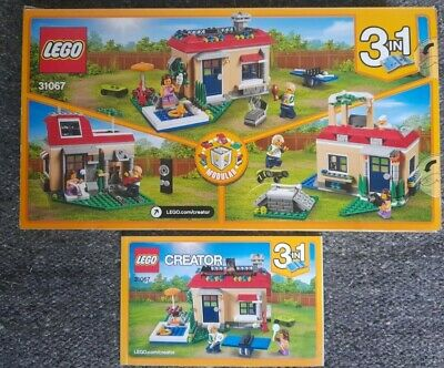 £6.99 • Buy Lego Creator 31067 - 3 In 1 Poolside House Complete Set With Instructions & Box