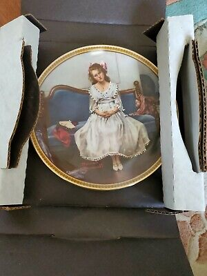 $ CDN1.88 • Buy Knowles Collector Plates Norman Rockwell  Waiting At Dance  Certificate Of Auth
