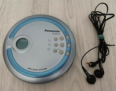 £16.99 • Buy Rare Retro Panasonic Sl-sx315 Portable Personal Cd Player Fully Tested & Working