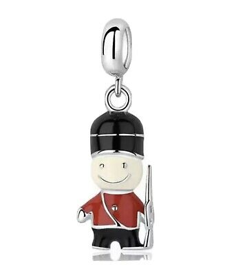 £26 • Buy **wow** Sterling Silver 925 London Queens Guard Soldier Charm