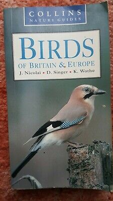 £3.99 • Buy Collins Nature Guides Birds Of Britain & Europe Book 2001