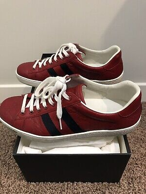 AU499 • Buy Gucci Sneaker Red - Size 6 UK