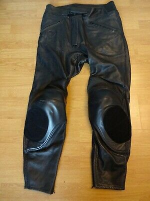 """£75 • Buy Triumph Leather Motorcycle Triple Collection Trousers Size Waist 40"""" X Leg 31"""""""