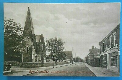 £6.50 • Buy FRITHS Postcard C.1905 LONDON ROAD & MOAT CHURCH EAST GRINSTEAD SUSSEX