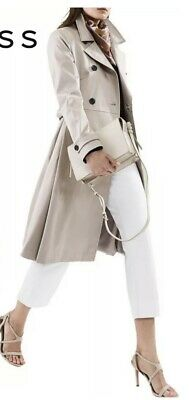 £100 • Buy Reiss Hyde Fit & Flare Trench Coat Size UK12